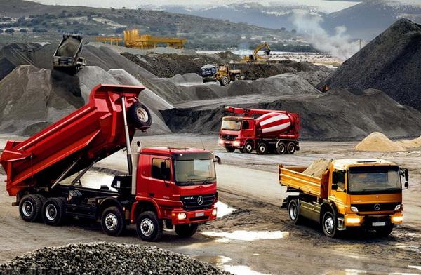 Перевозка сыпучих грузов автотранспортом